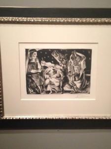 """Blind Minotaur Led By a Girl Through the Night,"" 1938"