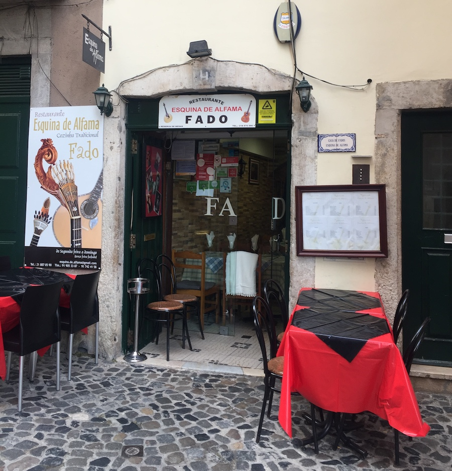 Fado is a must-do activity when in Lisbon at night