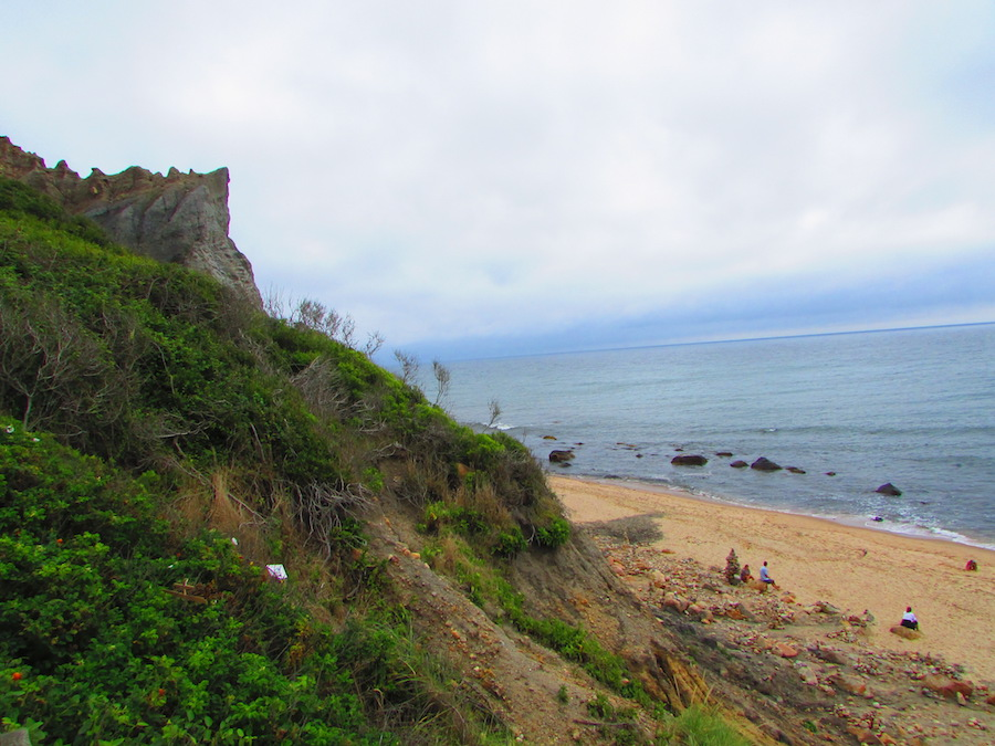Spectacular Mohegan Bluffs on Block Island